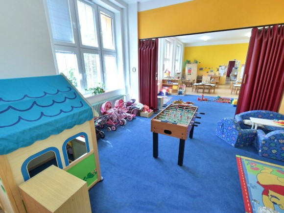 Interiér mateřské školy