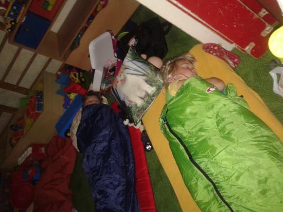 Spaní ve školce
