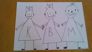 Lukášek Dušek ze třídy Broučků nakreslil Tři krále